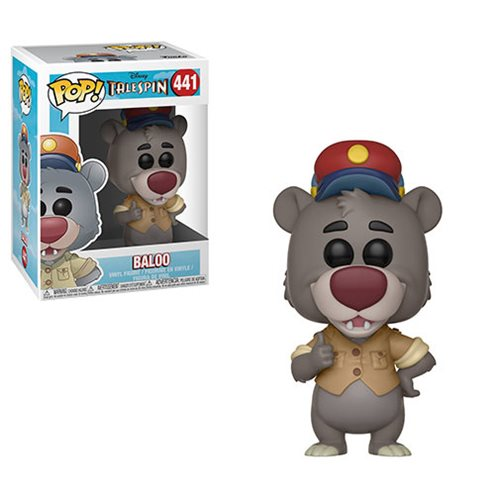TaleSpin Baloo Pop! Vinyl Figure #441, Not Mint