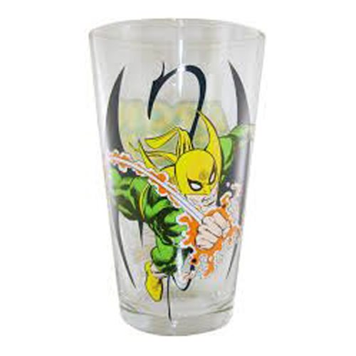 Marvel Iron Fist Toon Tumbler Pint Glass