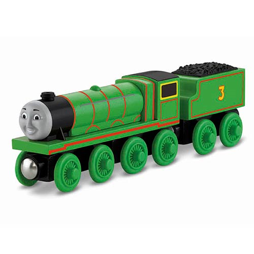 Thomas the Tank Engine Henry Wooden Railway Engine Vehicle