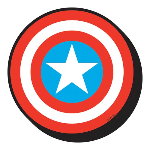 Captain America Shield Funky Chunky Magnet