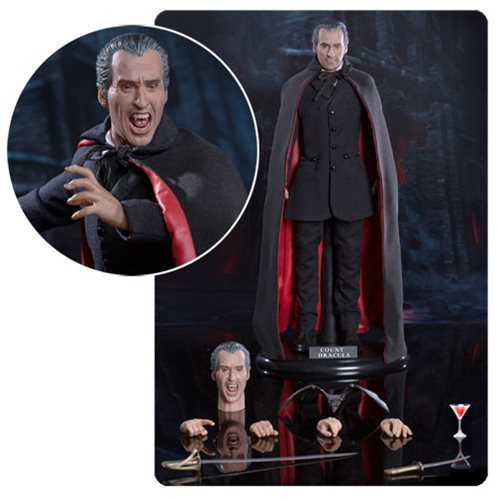 Scars of Dracula Christopher Lee 1:6 Scale Action Figure