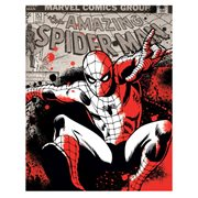 Spider-Man Color Splat Canvas Print