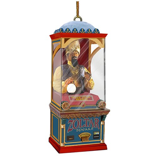 Zoltar 5 1/2-Inch Glass Ornament