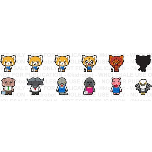 Aggretsuko Vinyl Mini-Figures Random 4-Pack