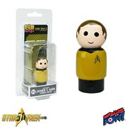 Star Trek: The Original Series Captain James T. Kirk Pin Mate Wooden Figure