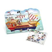 Melissa & Doug Pirate Puffy Stickers Play Set