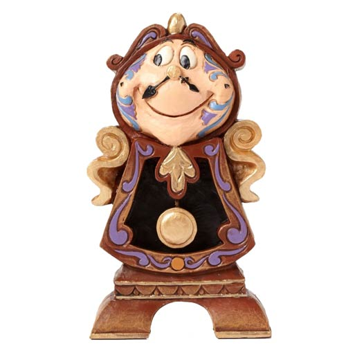 Disney Traditions Beauty and the Beast Cogsworth Statue