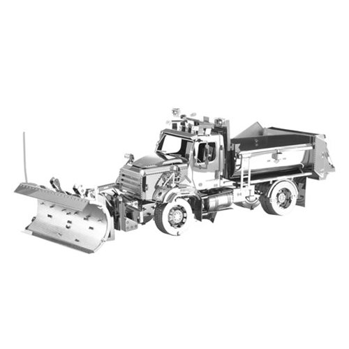 Freightliner Metal Earth Snow Plow Model Kit