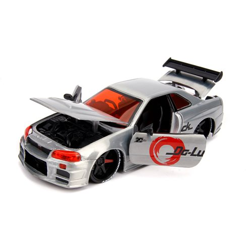 Jada 20th Anniversary Wave 5 JDM Tuners 2002 Nissan Skyline GT-R 1:24 Scale Die-Cast Metal Vehicle