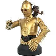 Star Wars: The Rise of Skywalker C-3PO and Babu Frik 1:6 Scale Bust