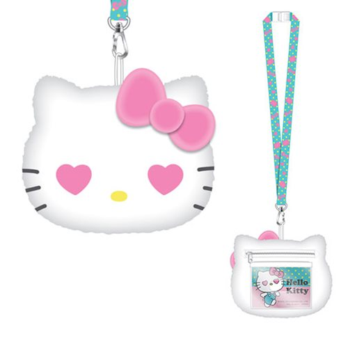 Hello Kitty Deluxe Lanyard with Card Holder