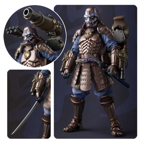 Marvel Koutetsu Samurai War Machine Meisho Manga Realization Action Figure P-Bandai Tamashii Exclusive