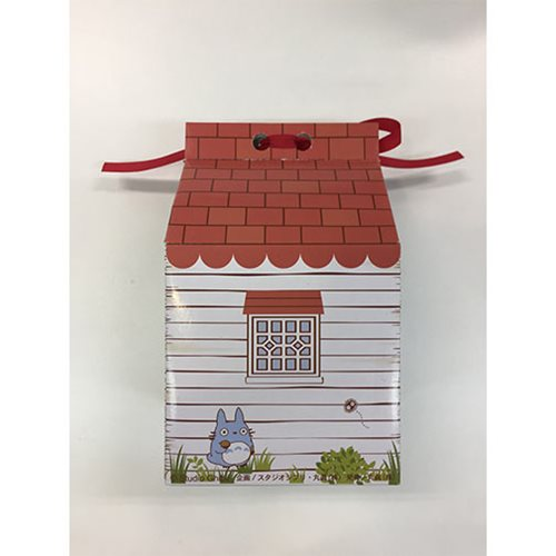 My Neighbor Totoro Totoro Mini Towel In House Shaped Gift Box