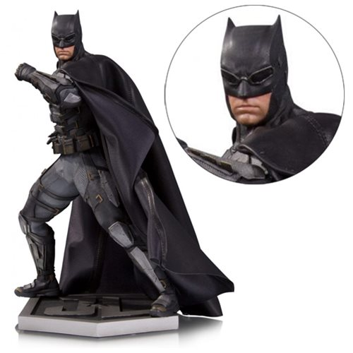 Justice League Movie Tactical Suit Batman Statue