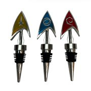 Star Trek The Original Series Delta Bottle Stopper 3-Pack