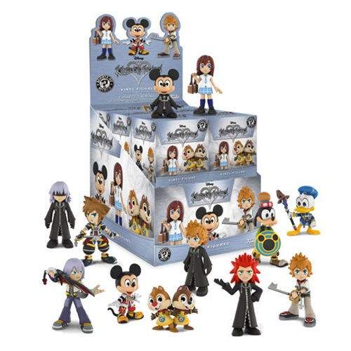 Kingdom Hearts Mystery Minis Random 4-Pack