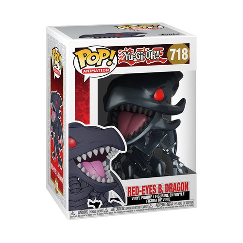 Yu-Gi-Oh Yu-Gi-Oh- Red-Eyes Black Dragon Pop! Vinyl Figure