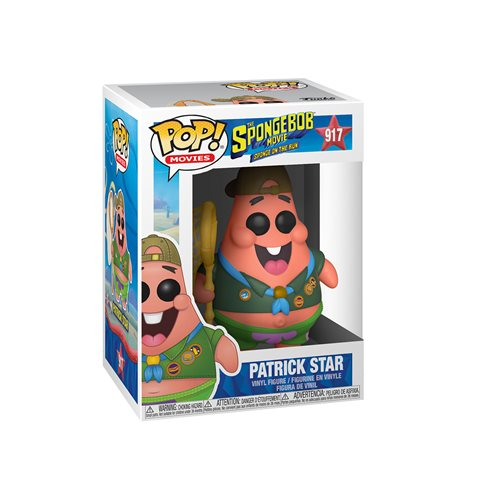 SpongeBob SquarePants Movie Patrick in Camping Gear Pop! Vinyl Figure