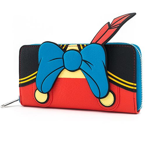 Pinocchio Outfit Zip-Around Wallet