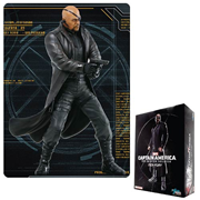 Captain America The Winter Soldier Nick Fury Action Hero Vignette 1:9 Scale Pre-Assembled Model Kit
