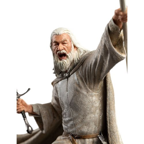 Lord of the Rings Gandalf the White Figures of Fandom Statue
