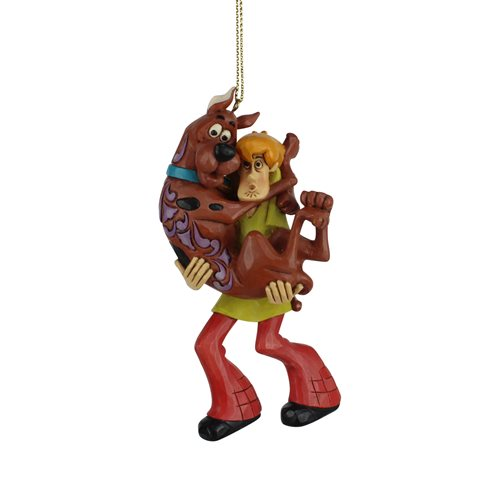 Scooby-Doo Shaggy Holding Scooby Ornament by Jim Shore