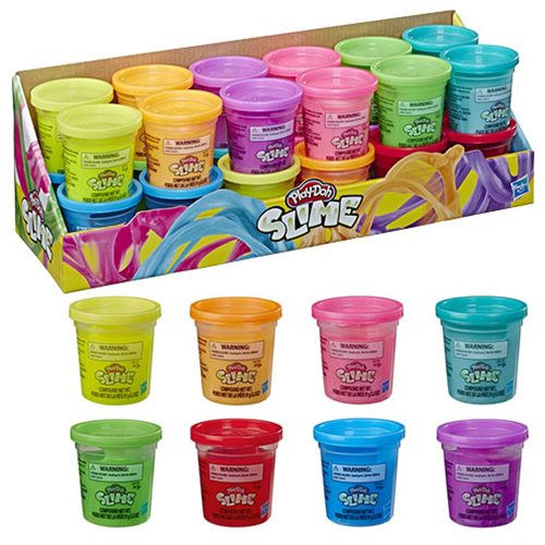 Play-Doh Slime Single Cans Wave 1 Set