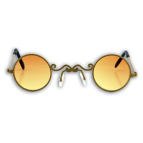 Steampunk Gold/Orange Pot O' Gold Glasses