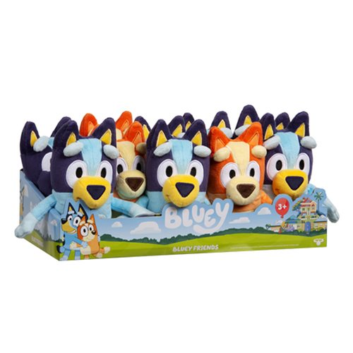 Bluey Series 1 Random Plush Assortment Case