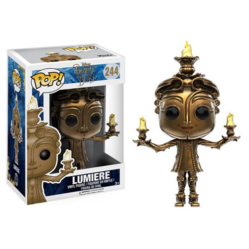Beauty and the Beast Live Action Lumiere Pop! Vinyl Figure