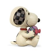 Peanuts Snoopy Holding Easter Egg Mini by Jim Shore Statue