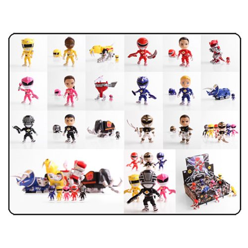Mighty Morphin Power Rangers Series 2 Mini-Figure 4-Pack