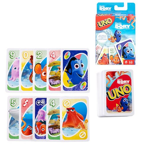 UNO Finding Dory Game