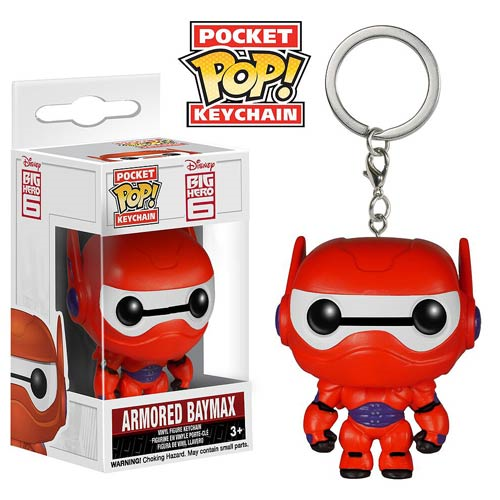 Big Hero 6 Armor Baymax Pop! Vinyl Figure Key Chain