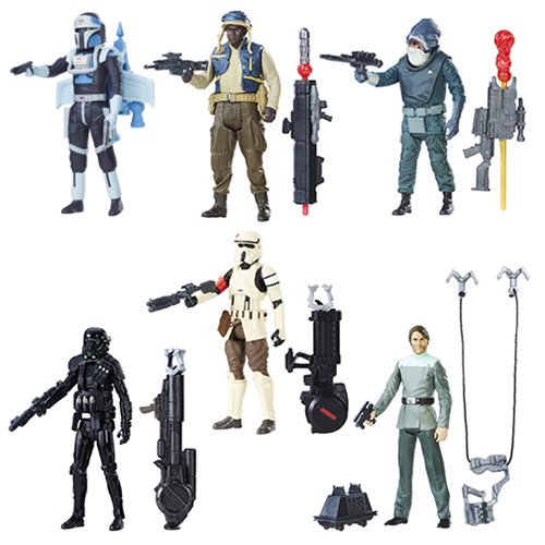 Star Wars Rogue One 3 3/4-Inch Action Figures Wave 4 Set