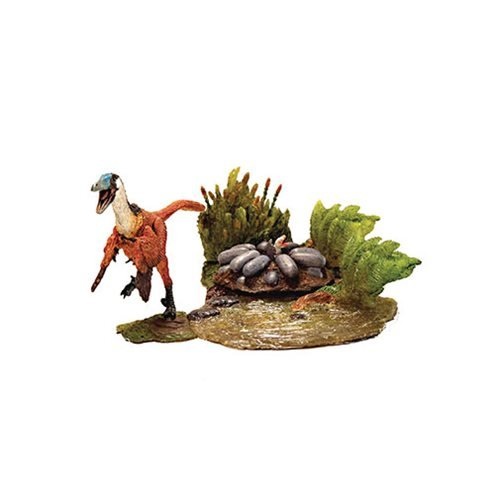 Beasts of Mesozoic Raptor Series Wetlands Buitreraptor Action Figure Set
