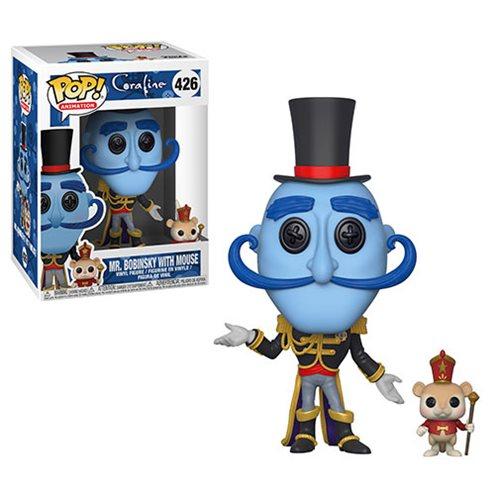 4593b8c9d46 Coraline Mr. Bobinsky with Mouse Pop! Vinyl Figure  426 ...