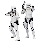 Star Wars: The Force Awakens First Order Stormtrooper ArtFX+ Statue 2-Pack
