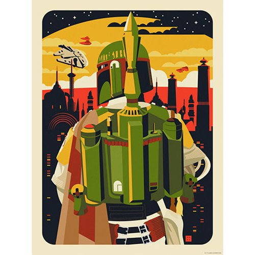 Star Wars The Empire Awaits by Danny Haas Lithograph Art Print