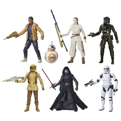 Star Wars: The Force Awakens The Black Series 6-Inch Action Figures Wave 3 Case