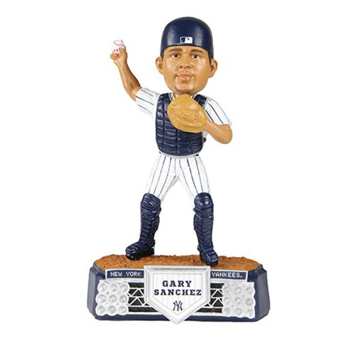 MLB New York Yankees Gary Sanchez Stadium Lights Bobble Head