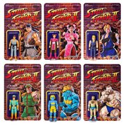 Street Fighter II CE Retro Action Figures Wave 1 Set