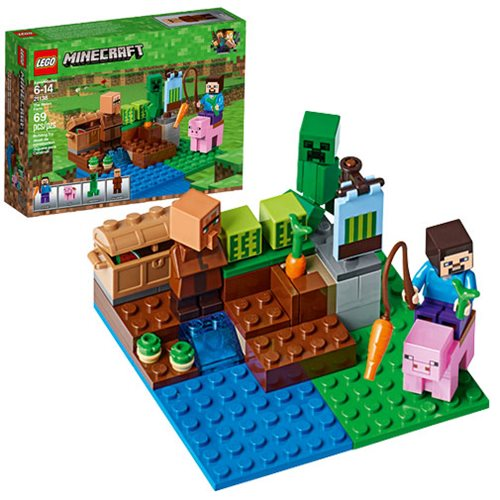 LEGO Minecraft Creative Adventures 21138 The Melon Farm