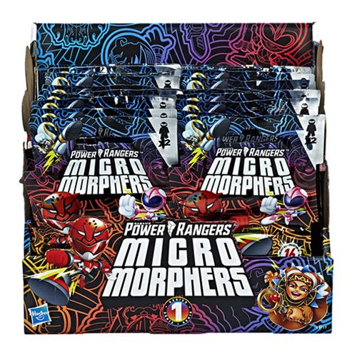 Power Rangers Micro Morphers Collectible Mini-Figures Series 1 Case