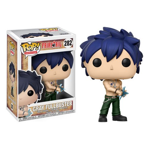 Fairy Tail Gray Fullbuster Pop! Vinyl Figure #282