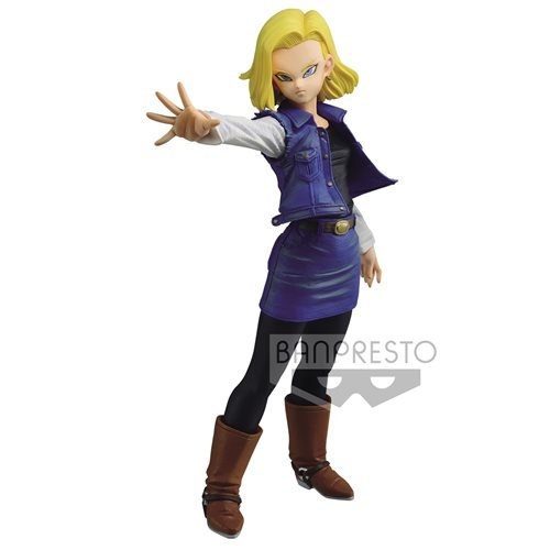 Dragon Ball Z Match Makers Android 18 Statue