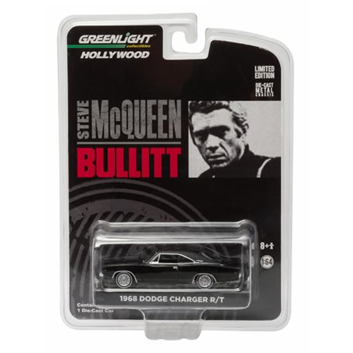 Bullitt 1968 Dodge Charger R/T 1:64 Scale Die-Cast Metal Vehicle