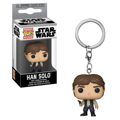 Star Wars Han Solo Pocket Pop! Key Chain