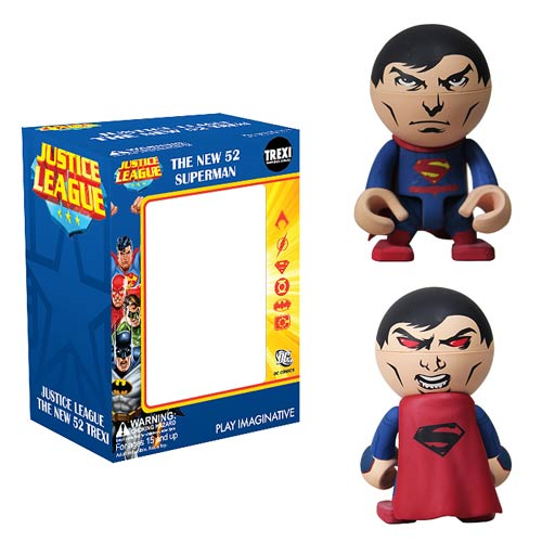 Superman New 52 Trexi Mini-Figure