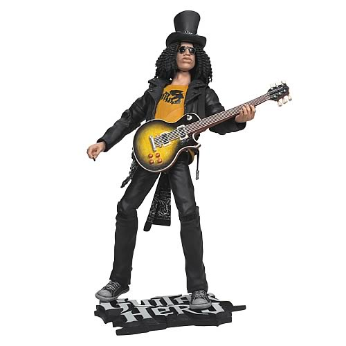 Guitar Hero Slash 10-Inch Action Figure
